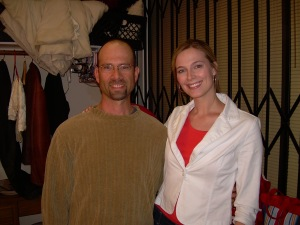"Jennifer Keller and Tim McLaughlin in ""Kramer vs. Kramer"" at The Actors Space"