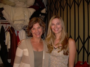 "Jennifer Keller and Debra Lynn Hull in ""Gypsy"" at The Actors Space"