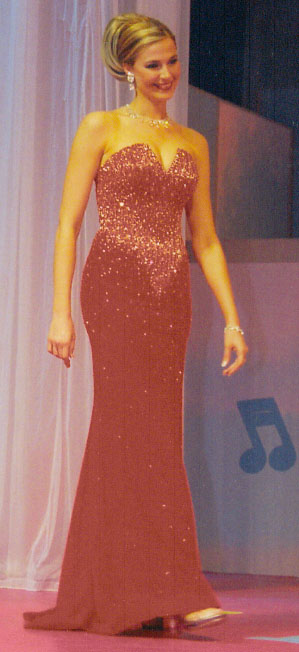 Evening Gown Competition at The Miss Ohio Pageant