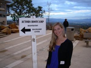 Jennifer Keller at The Actors Bootcamp