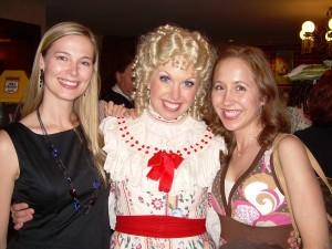 Jennifer Keller with Ann Myers and Tawny Mertes