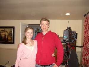 Jennifer and Director Jon Clark